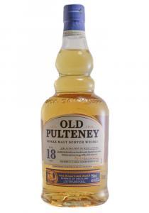 Old Pulteney 18 YR. Single Malt Scotch Whisky
