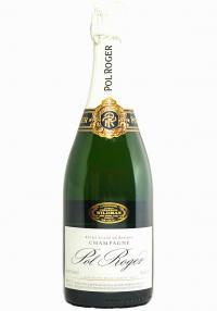 Pol Roger Cuvee De Reserve Brut Champagne (White Foil)