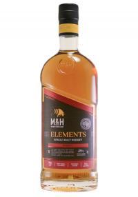 M&H Elements Israel Single Malt Whisky-Kosher