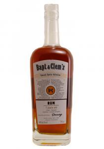 Bapt & Clem's 7 yr. Salvador Rum