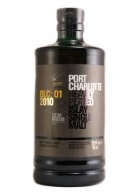 Port Charlotte OLC: 01 2010 Islay Single Malt Scotch
